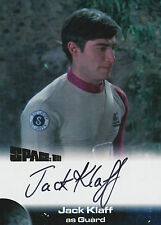 Space 1999 Autograph Trading Card JK2 Jack Klaff As Guard