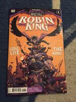 DARK NIGHTS DEATH METAL ROBIN KING #1 1st Print Main Cover [DC Comics, 2020]
