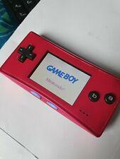 Nintendo Game Boy micro Handheld System - Pink