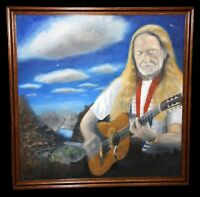Willie Nelson Painting Original Album Cover Peace In The Valley Robert MacDonald