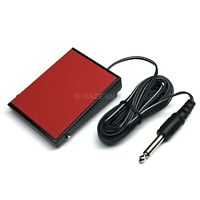 """NEW Philmore Momentary Foot Pedal Switch with 10 ft Cord 1/4"""" Plug Push-To-Talk"""