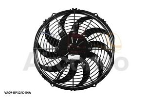 "Spal Axial Fan, VA09-BP12/C-54A, 24v (Pull) 11"" (280mm) - Genuine Product!"