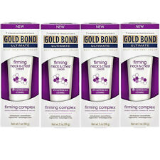 4 Pack - Gold Bond Ultimate Firming Neck & Chest Cream 2 Oz Each