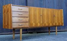 60er Vintage Nussbaum Sideboard Kommode Anrichte Danish MidCentury Hvidt Ära 3