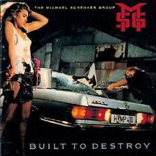 The Michael Schenker Group : Built to Destroy VINYL (2018) ***NEW***