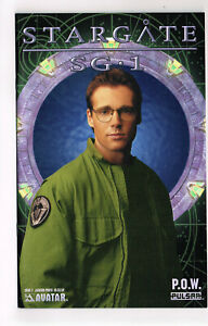 STARGATE SG-1 P.O.W. #2 AVATAR COMICS 2004 NM OB M SHANKS PHOTO CVR TV SERIES