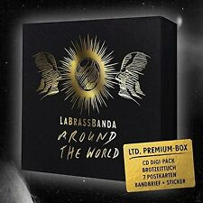 LABRASSBANDA - AROUND THE WORLD (PREMIUM BOX)   CD NEU