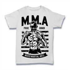 Camiseta Arte Marciales Mixtas Mma orgullo honor Reino Unido para hombre S-3XL