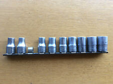 Vintage Snap On SWM 9-Piece 12-Point Socket Bit Set, Metric, Garage Auto Repair