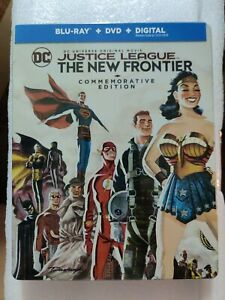 Justice League The New Frontier Blu-ray Steelbook US version, New/Sealed