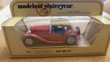 Matchbox models of yesteryear Y-8 1945 MG-TC in unopened box.