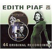 Édith Piaf CD 44 Original Recordings 2 CD Set New And Sealed.
