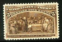 US Stamps # 234 Superb OG VLH Gem w/ Clean PFC