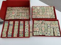 Vintage Chad Valley Mah-Jongg Mahjong Set - Incomplete