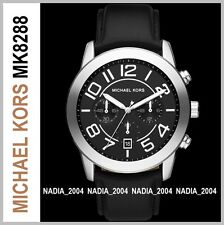 MICHAEL KORS MK8288 MERCER CHRONOGRAPH WATCH, Brand New w tags and MK case