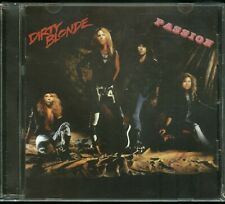 Dirty Blonde Passion CD new Indie Hair Metal Glam reissue