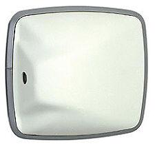 VELVAC 704177-5 - WIDE ANGLE CONVEX 6.5 X 6 WHITE PLST
