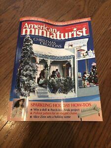 American Miniaturist Nov/Dec 2002 Issue #1