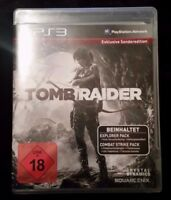 Tomb Raider (Sony PlayStation 3, 2013, DVD-Box)