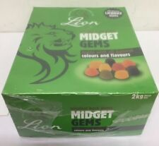 Lion's Midget Gems 2kg Box Party Bag Pick Mix Sweets