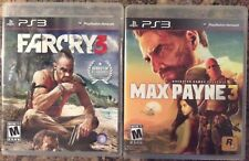 Playstation 3, Max Payne 3 & Farcry 3 Games