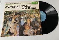 Vintage Strauss/Waltzes & Polkas LP Music Record Album 5 The Joy of Great Music