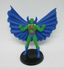 "DC Martian Manhunter Figure on stand 2.5"" East West Dist. HTF"