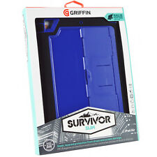 New Official Griffin Survivor Tough Rugged Slim Case Screen Cover For iPad Air 1