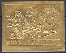 Ruanda Rwanda 1972 ** Mi.473 B Weltraum Space Espace Apollo 15 Gold Foil issue