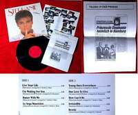 LP Stephanie (Carrere 626 366 AP) D 1986 mit Presse-Info