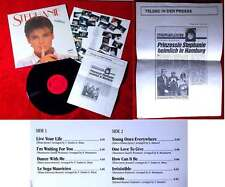 LP Stephanie (Carrere 626 366 AP) D 1986 con stampa-info