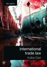 INTERNATIONAL TRADE LAW [9780415659253]