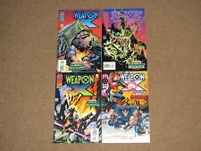 Marvel - WEAPON X 1 - 4 Complete!! Glossy VF 1995 Age Apocalypse!