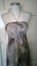 Coast Silk Calla Lily Maxi Dress Size 10