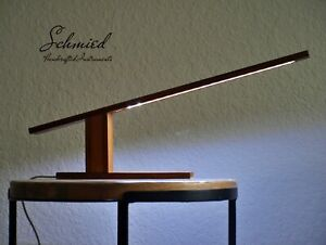 Handcrafted Desk Led Lamp - Recycled Bamboo - USB powered #1