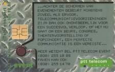 Telefoonkaart / Phonecard Nederland CKD115 ongebruikt - PTT Telecom Event