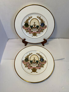 Schweppes 1783 -1983 Bicentenary Plates 200 Years by Wedgwood Bone China England