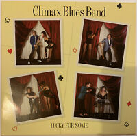 CLIMAX BLUES BAND LUCKY FOR SOME LP WARNER BROS 1981 GERMAN ALSDORF PRESS NM