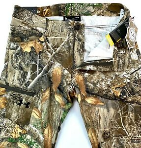 Under Armour Storm Men`s UA Ops Straight RealTree Edge Pants $100