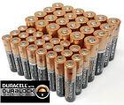 Duracell 24 AA + 24 AAA Batteries Coppertop Alkaline Long Lasting Bulk EXP 2025
