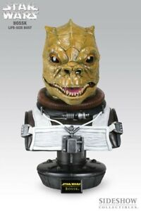 Star Wars Sideshow Life Size BOSSK 1:1 Scale Statue Figure Bust Bounty Hunter!!!