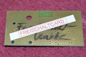 Freischaltkarte für Spielautomaten ADP Merkur alte Generation