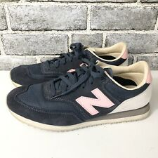 New Balance 620 Classics Blue Pink Sneakers Athletic Shoes Women's Size 9.5 B