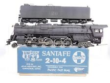 HO Brass PFM Pacific Fast Mail United ATSF Santa Fe 2-10-4 Custom #5026 PROJECT