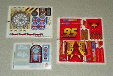 LEGO 8484, 8487 & 8639 - CARS 2 / Lightning McQueen - STICKER SHEETS
