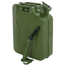 Segewe Jerry Can 5 Gallon Gas Fuel Nato Military Metal Steel Tank Prepper 20l