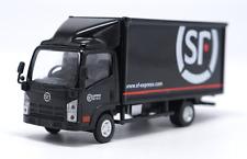 1/64 Black ISUZU sf express delivery van truck model
