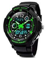 Sport Hand Watch Wristwatch Military Waterproof Digital Analog Watches Men Boys