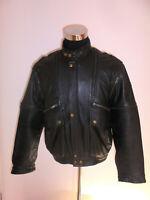 HEIN GERICKE Motorradjacke Leder Bikerjacke Motorrad Jacke vintage oldschool L
