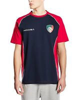 MENS Medium Kooga LEICESTER TIGERS Cotton Training T shirt ADULT Top rugby Union